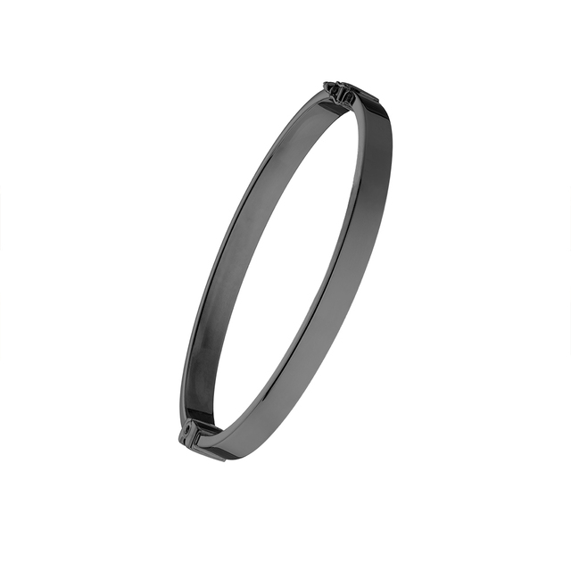 Woman's Loisir Black Bangle Fashionista Bracelet