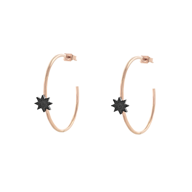 EARRINGS FEMININITY SUNDUST 03L27-00548 LOISIR