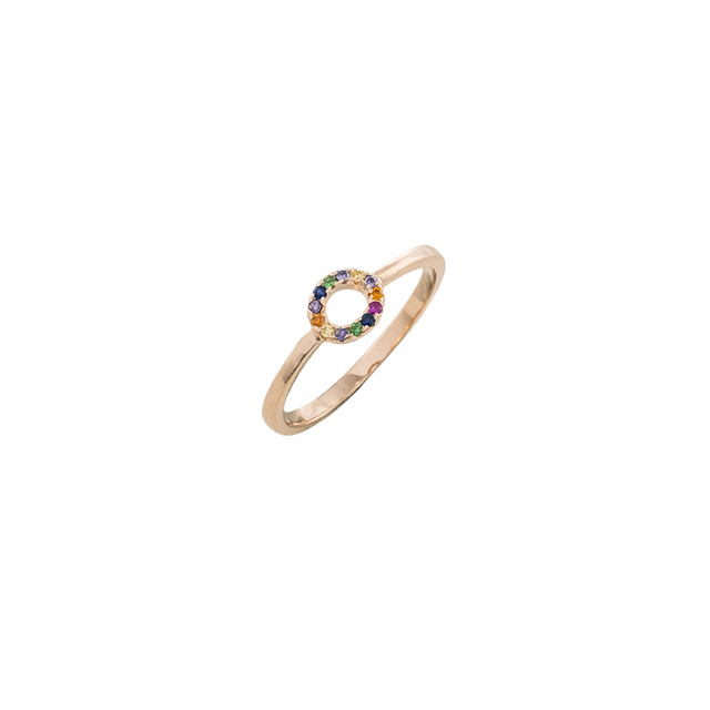 Woman'sLoisir Cherry Ring Circle