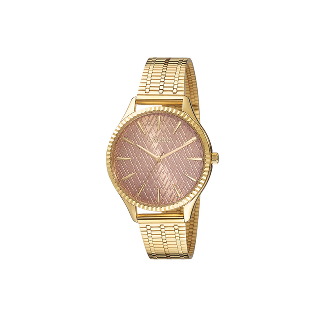 Woman's Watch Oxette Florida Gold-Mesh Band