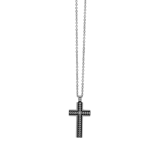 Men's Cross Chain Visetti AD-KD220 Steel