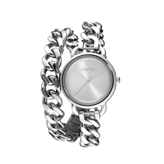 Woman's Watch Oxette Link Steel Double Chain