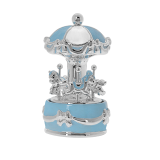 Carousel Silver Princelno-Ribbon Light blue EZ/CA1911-C
